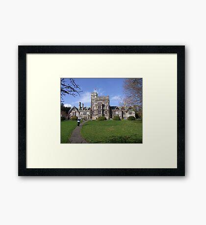 Hatley Castle (1) Framed Print