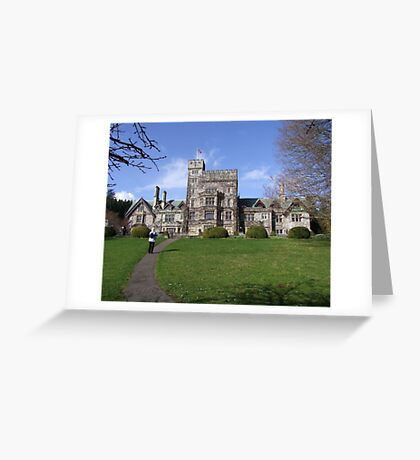 Hatley Castle (1) Greeting Card