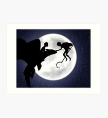 Under the Moon Art Print
