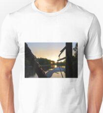 Sunrise on The Trestle T-Shirt