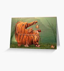 Successful Hunting Greeting Card