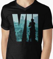 Cloud is back in color Men's V-Neck T-Shirt