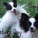 Happy Mothers day Dog card by JuliaKHarwood