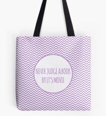 Never Judge A Book By Its Movie 2 Tote Bag
