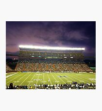 Aloha Stadium at Night Photographic Print