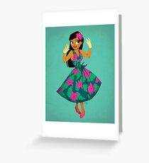 Girl of Adventure Greeting Card