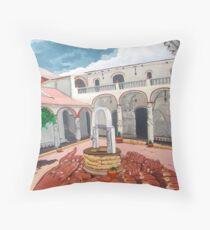 Patio Colonial Throw Pillow