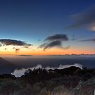 Sunset at 1000m by Mike Johnson