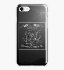 neck deep - wishful thinking iPhone Case/Skin