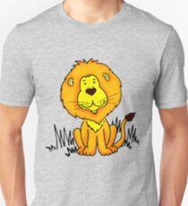 Cute Little Lion graphic drawing Unisex T-Shirt