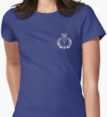 Chrome like Scottish Thistle T-Shirt