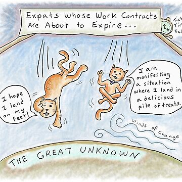 Expats in the Great Unknown -Work Contracts Are Up by kpalana