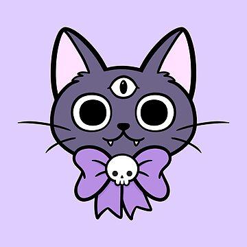 Three Eyed Kitty by nikury
