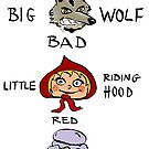 Little Red Riding Hood characters by Logan81