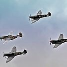 Formation of Fighters of WW2 by bazcelt