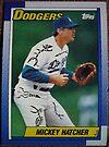 452 - Mickey Hatcher by Foob's Baseball Cards