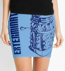 EXTERMINATE! (With Caption) Mini Skirt