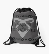 Forever A Shadowhunter Drawstring Bag