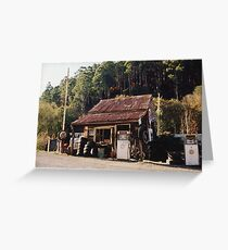 Woods Point Garage Greeting Card