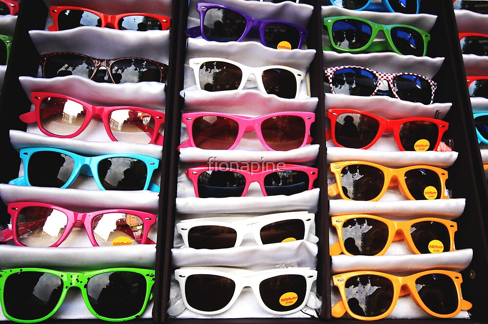 80's Sunglasses, Camden Markets - London by fionapine