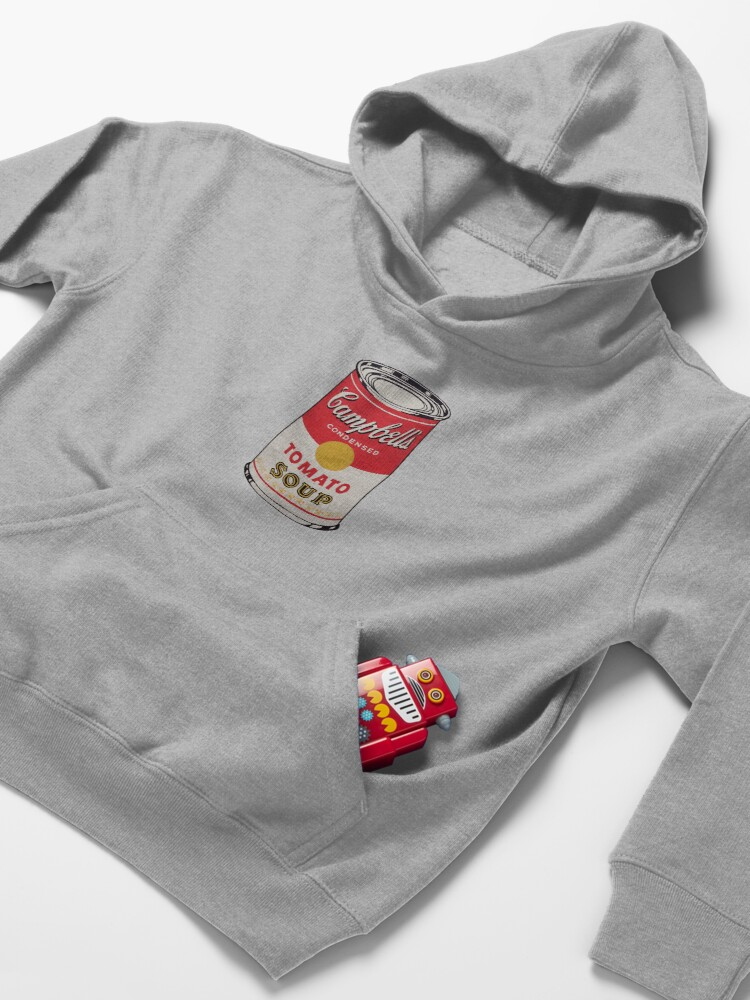Alternate view of Campbell soup - Andy Warhol Kids Pullover Hoodie