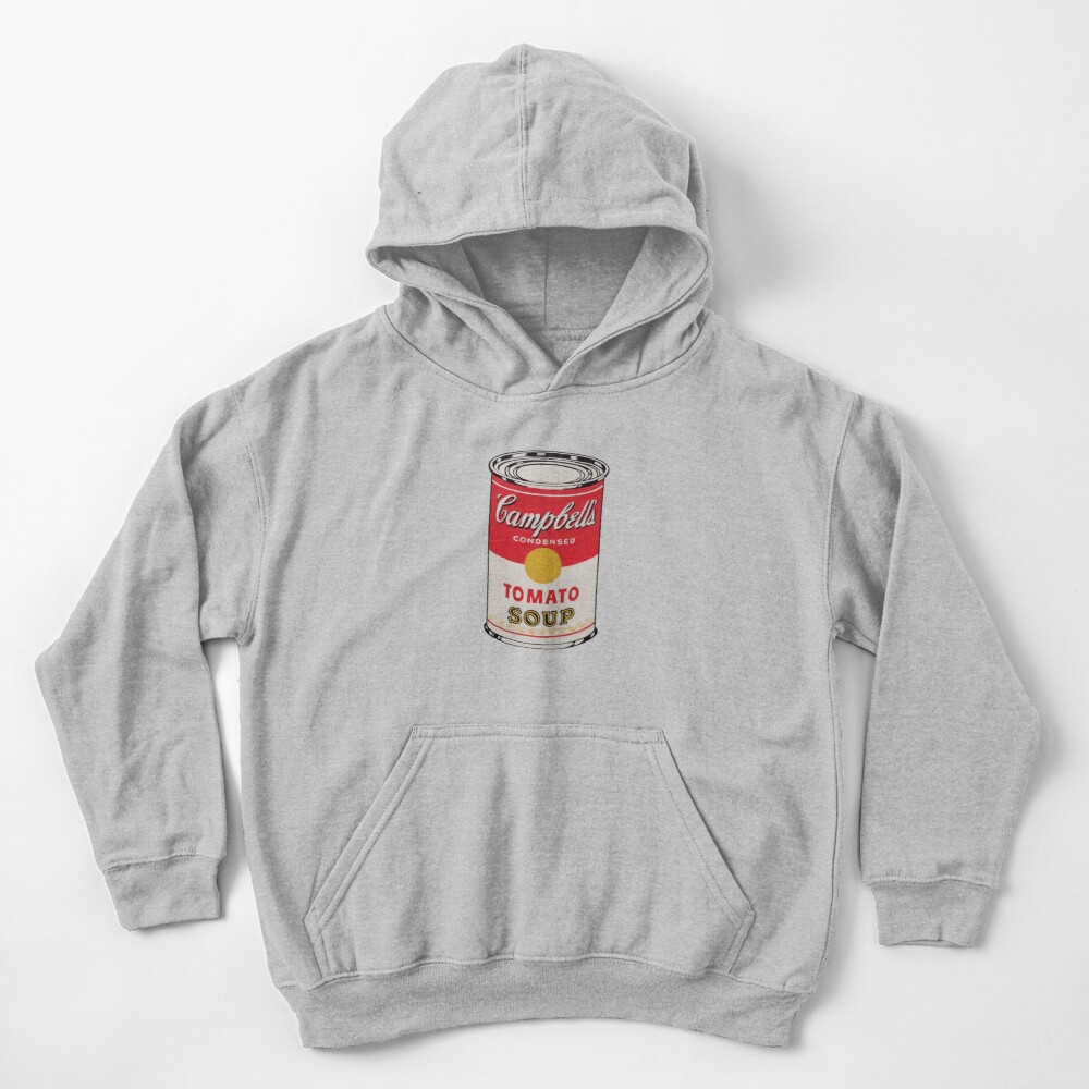 Campbell soup - Andy Warhol Kids Pullover Hoodie