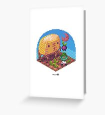 Phylla Harvest Moon Cube Greeting Card