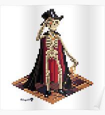Vincent, Prince of the Underdark - Skeleton Cube Poster