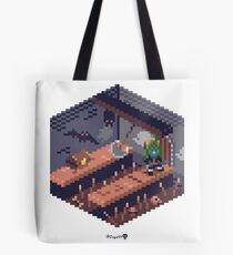 Phylla Dungeon Cube Tote Bag