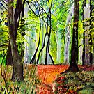 BLICKLING WOOD by ANNETTE HAGGER