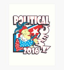 POLITICAL JEST Art Print