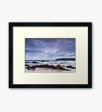 Lewis: On the Rocks Framed Print