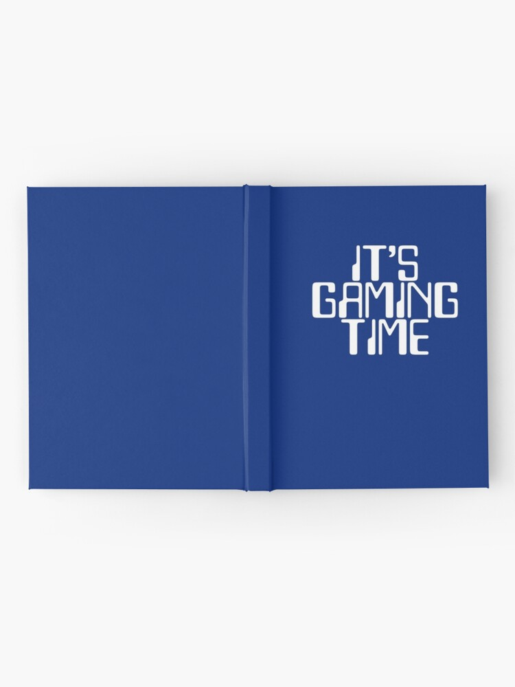 Alternate view of Gamer Gift - Its Gaming Time - Video Games Player Present Hardcover Journal