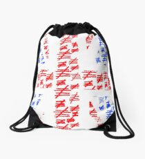 The Silence of the British Drawstring Bag