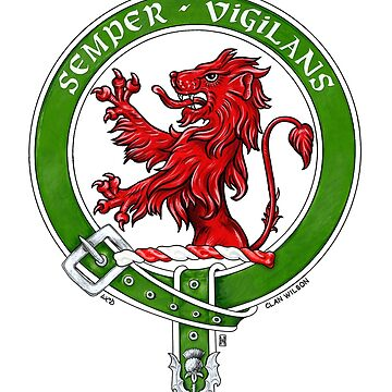 Scottish Crest of Clan Wilson by Cleave