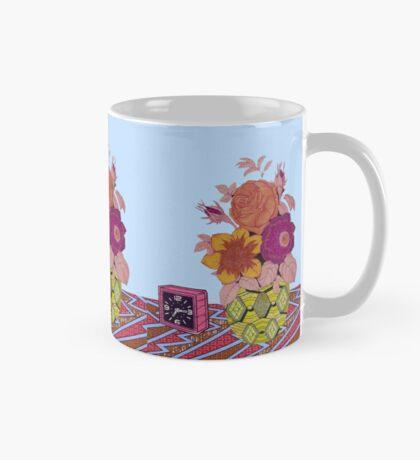 CLOCK & FLOWERS Mug