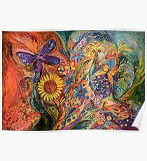 The purple butterfly of Yotvata Poster