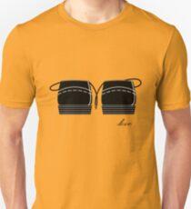 AMOR ENTRE CORDONES Camiseta unisex