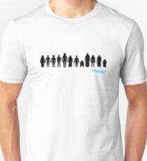 Vintage 12 Back Action Figures Slim Fit T-Shirt