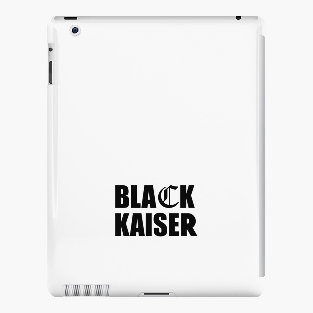 Schwarzer Kaiser iPad-Hüllen & Klebefolien