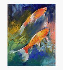Two Koi Fish Photographic Print