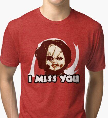 Doll t-shirt Tri-blend T-Shirt
