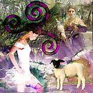 Homage to fiber arts by Susan Ringler