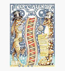 Lunar Calendar 2015 by Lucy Everitt Photographic Print