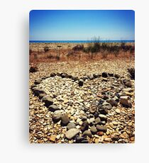 Heart of Stone Canvas Print
