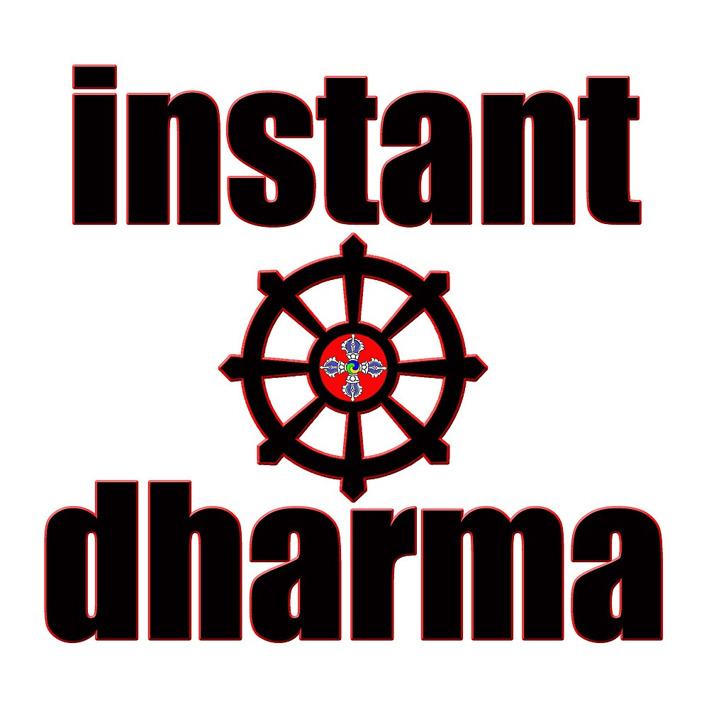instant dharma wheel of life by RavenDesmond
