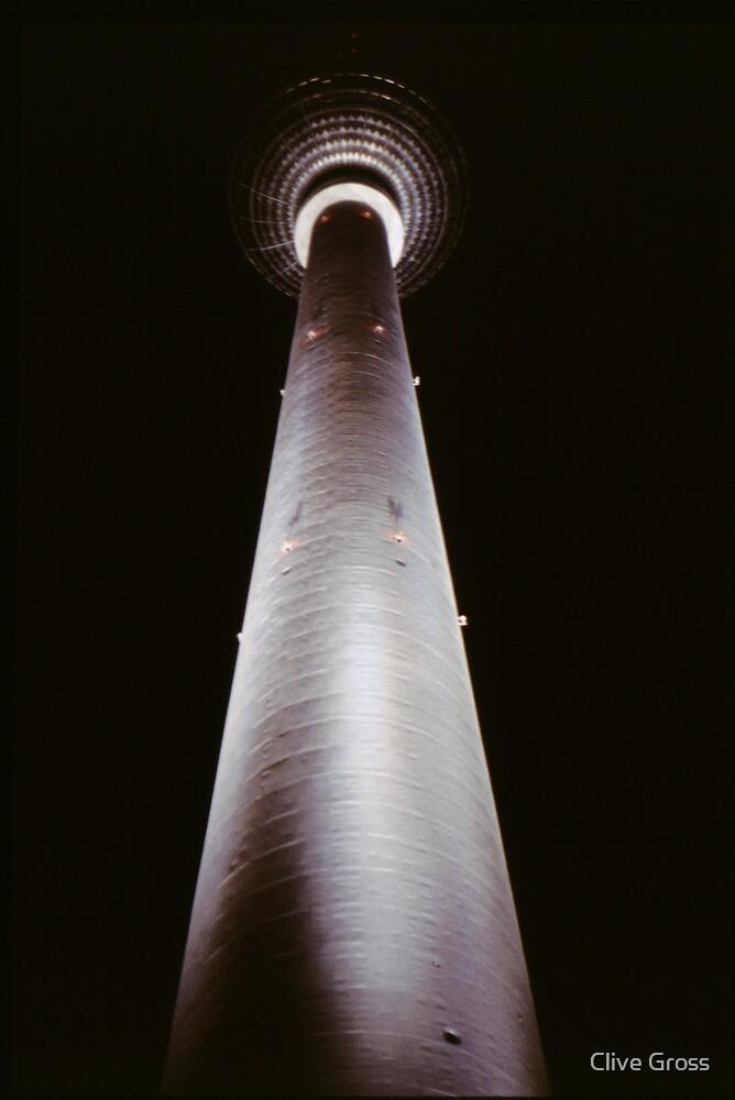 Alexanderplatz TV Tower Berlin by Clive Gross