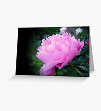 """""""In The Pink"""" Greeting Card"""
