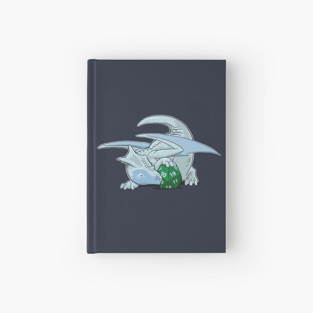 D20 White Dragon Hardcover Journal