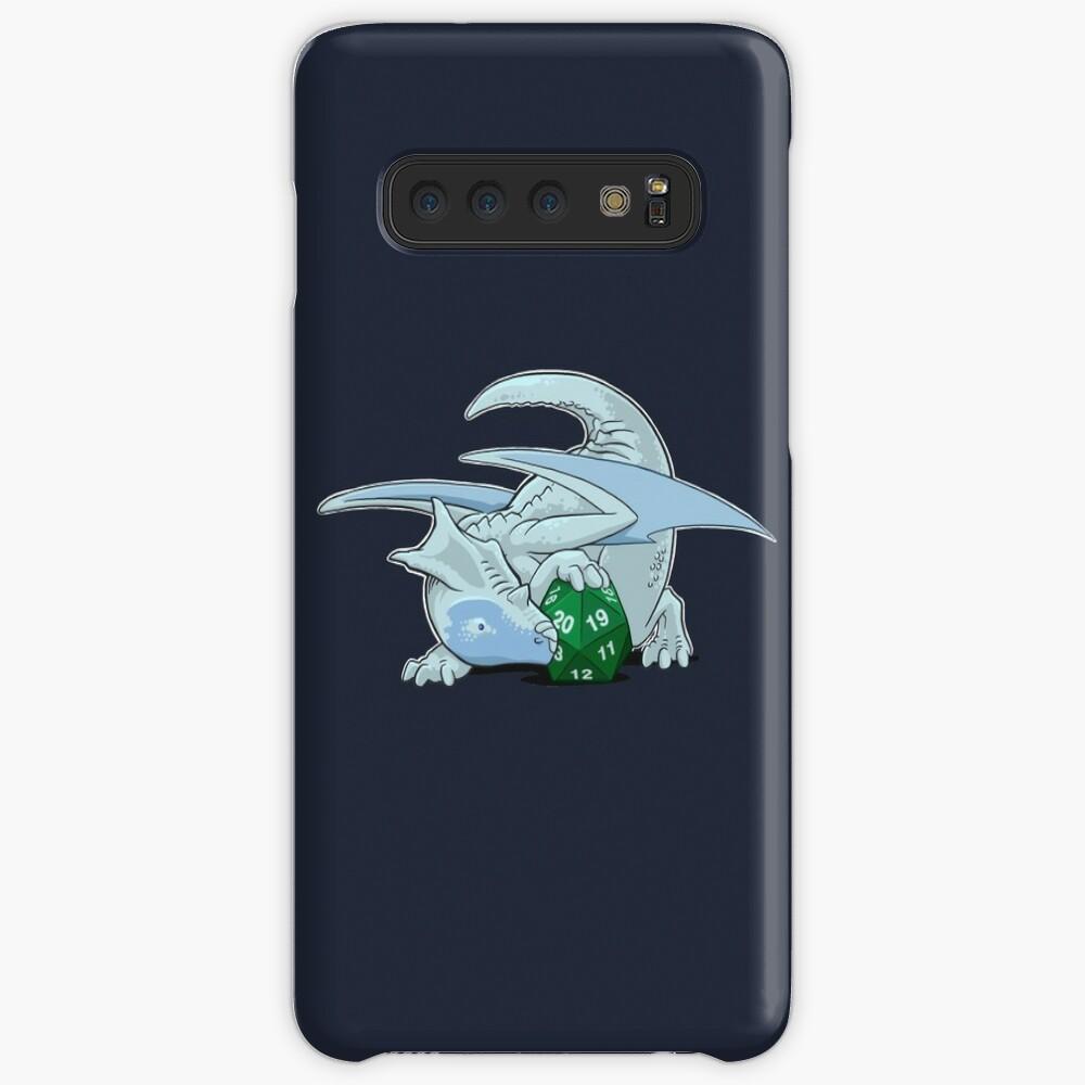 D20 White Dragon Case & Skin for Samsung Galaxy